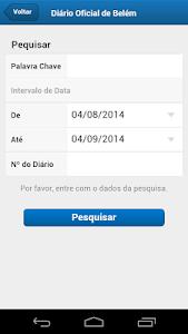 Diário Oficial Belém screenshot 2