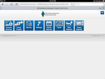 IBMSECU Mobile Banking screenshot 3