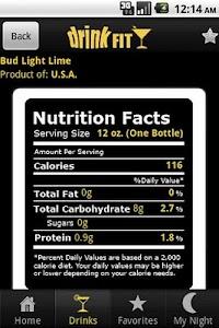 DrinkFit Calorie Tracker screenshot 0