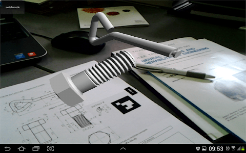 AR CAD - MagicBook screenshot 4