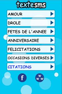 Textesms - idées messages SMS screenshot 4