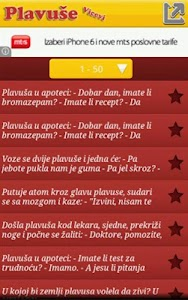 Vicevi o Plavušama screenshot 2
