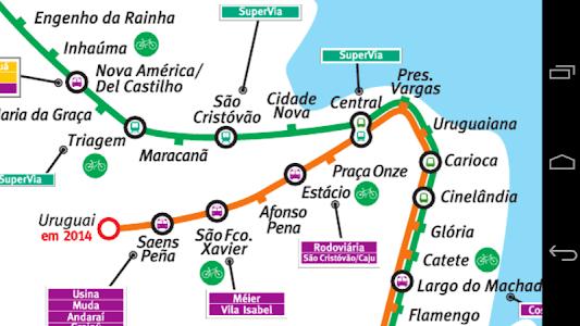 Rio de Janeiro Subway screenshot 0