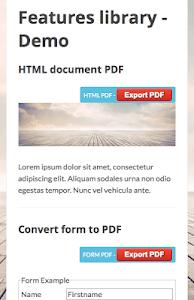 PDF SDK for Hybrid Apps screenshot 1