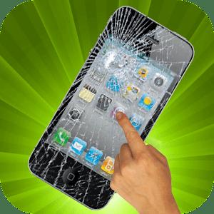 Broken Cracked Screen