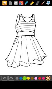 تحميل Coloring Dresses APK + Mod 1.0 APK لالروبوت