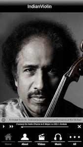 Indian violin Dr.L.Subramaniam screenshot 0