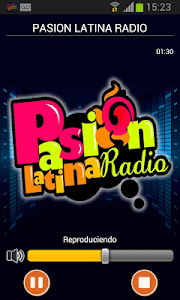 Pasión Latina Radio screenshot 0