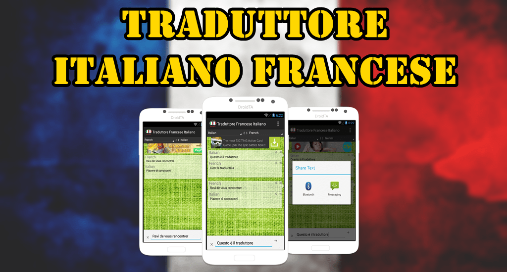 Traduttore Italiano Francese  Android Apps on Google Play