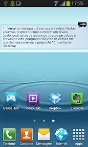 Mensagem de Luz screenshot 2