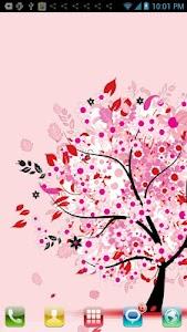 Love Tree Live Wallpaper screenshot 0