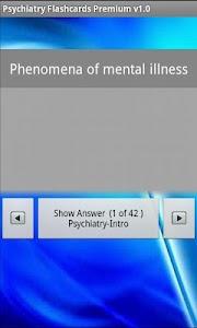 Psychiatry Flashcards Premium screenshot 1