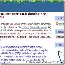 instant preview in Windows Live Writer