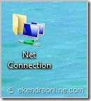 shortcut to net connection