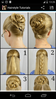 hairstyles step - android