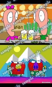 Daily Cartoon022 LWP & Clock screenshot 3