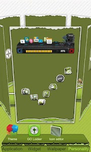 Next Launcher Theme P.Sheep screenshot 1