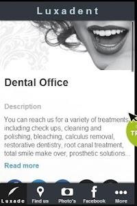 Luxadent Dental Office screenshot 0