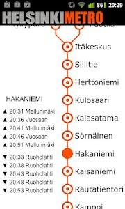 Helsinki Metro Map screenshot 0