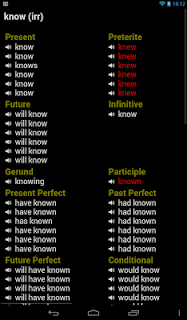 English Verbs screenshot 09