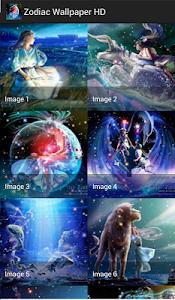 Zodiac Wallpaper HD screenshot 0