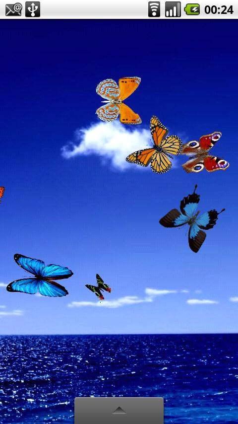 Touch Screen Animated Wallpapers Butterfly Live Wallpaper Android Apps On Google Play