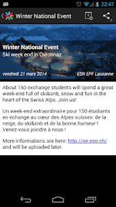 Erasmus ESN Events screenshot 7