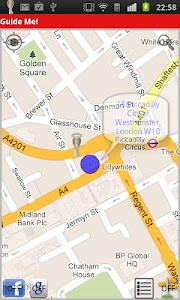 Walking Navigation (Guide Me!) screenshot 3