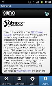 Traxx FM screenshot 4