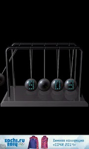 Newton's cradle screenshot 2