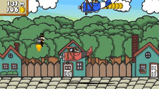 Dr. Gentleman's Jetpack Run screenshot 8