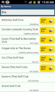 Golf Course Guide Aust Edition screenshot 3