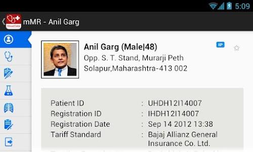 mMR (mobile Medical Records) screenshot 6
