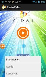 Radio Fides screenshot 2