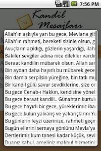 Kandil Mesajlari screenshot 1