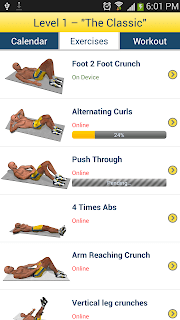 8 Minutes Abs Workout screenshot 07