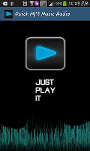 Quick MP3 Music Audio screenshot 0
