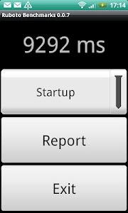 Ruboto Benchmarks screenshot 1