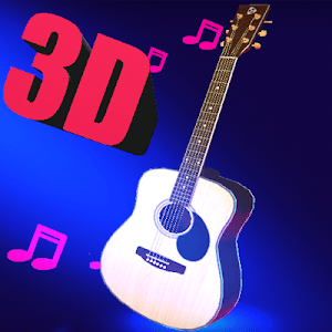 Real 3d guitar live wallpaper screenshot 1