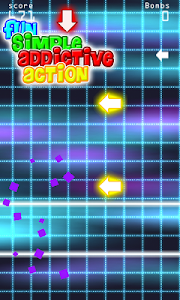 Arrow Swipe Run X: Rhythm game screenshot 1