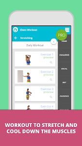 Chest Workout Lumowell screenshot 5