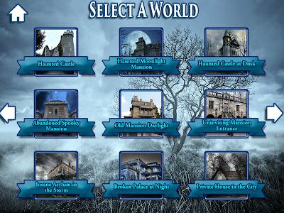 Hidden Objects Haunted Worlds screenshot 9