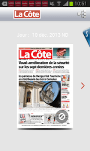 La Côte journal screenshot 1