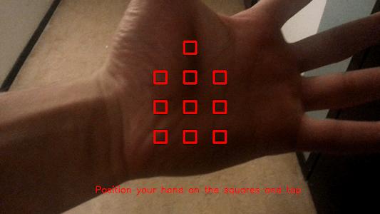 HandSkinTracking screenshot 2