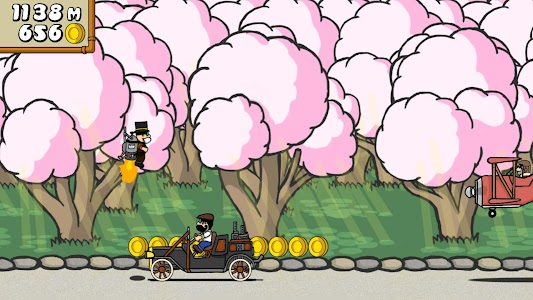 Dr. Gentleman's Jetpack Run screenshot 0