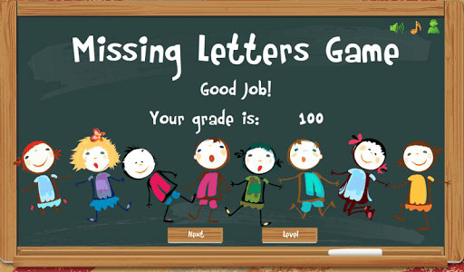 Missing Letters Spelling Kids screenshot 10
