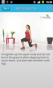 Ladies' Leg Workout FREE screenshot 1