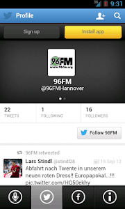 96FM screenshot 1