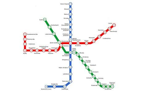 Scheme&Schedule of Kyiv metro screenshot 0