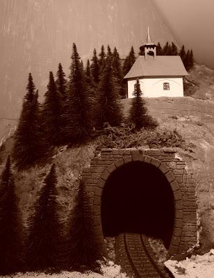 Kapelletje op de berg